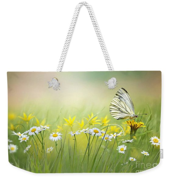 Light Wings Weekender Tote Bag