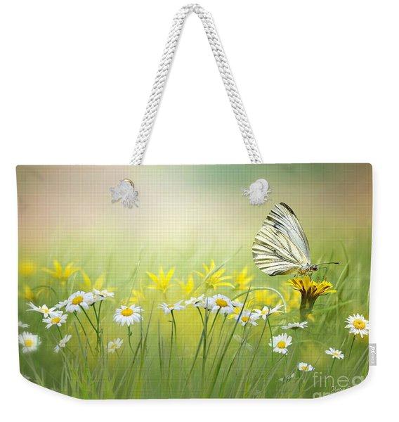 Light Wings Weekender Tote Bag