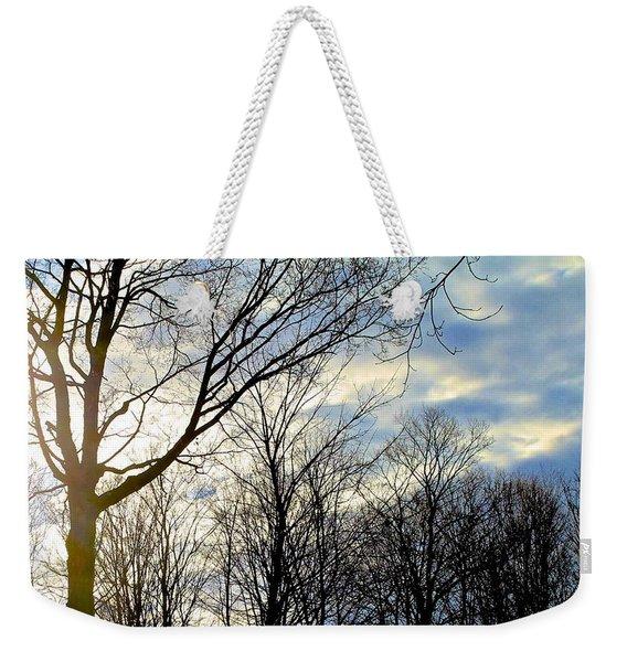 A Morning Sun Weekender Tote Bag