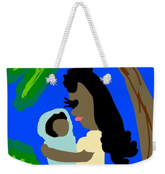 A Mother Provides Universal Love Weekender Tote Bag