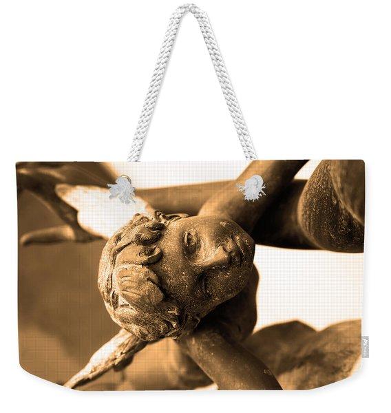 A Mother's Angel Weekender Tote Bag