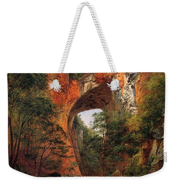 A Natural Bridge In Virginia Weekender Tote Bag