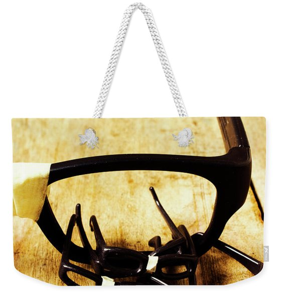A Nerdy Spectacle Weekender Tote Bag