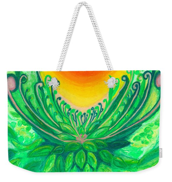 A New Beginning Weekender Tote Bag