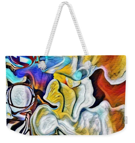 A New Day Coming Weekender Tote Bag