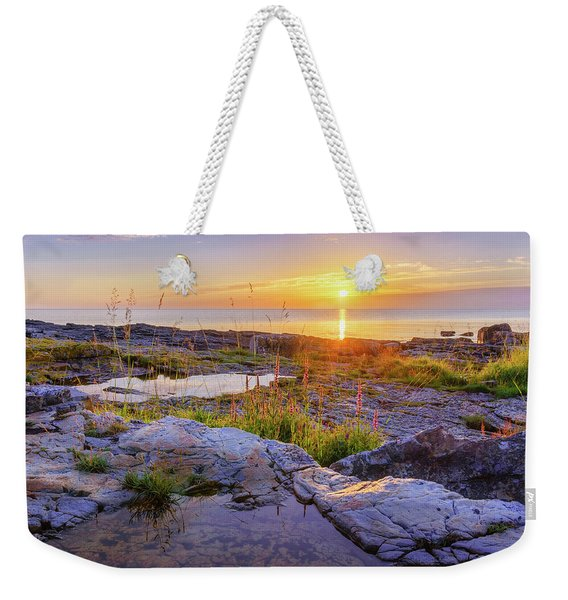 Weekender Tote Bag featuring the photograph A New Day's Born by Dmytro Korol