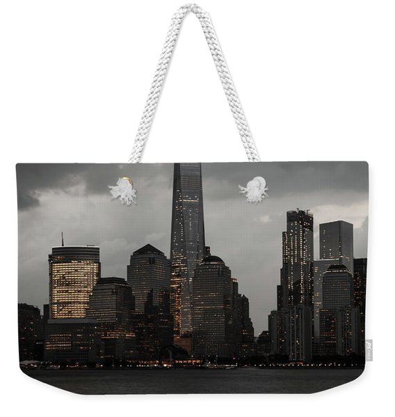 A New York Mood Weekender Tote Bag