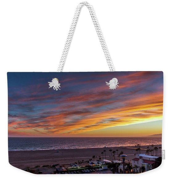 A Night Out At The Jonathan Weekender Tote Bag