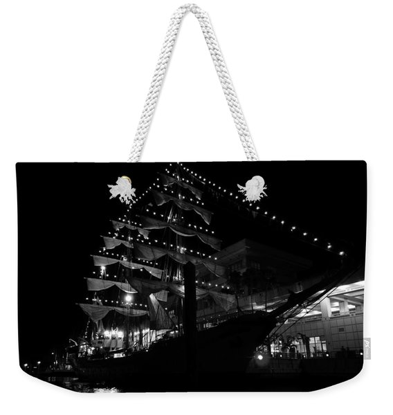 A Night With Gloria Weekender Tote Bag