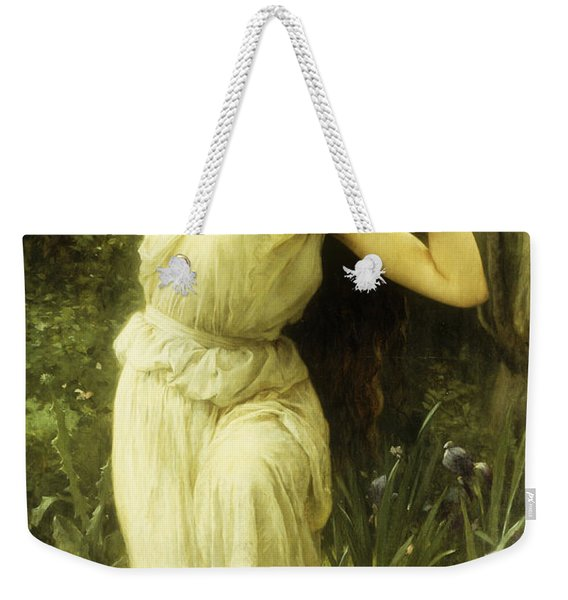 A Nymph In The Forest Weekender Tote Bag