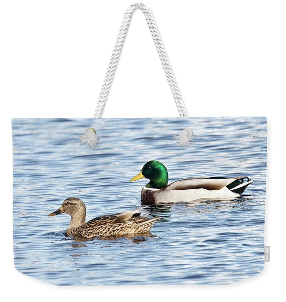 A Pair Of Mallards Weekender Tote Bag