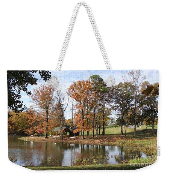 A Peaceful Spot Weekender Tote Bag