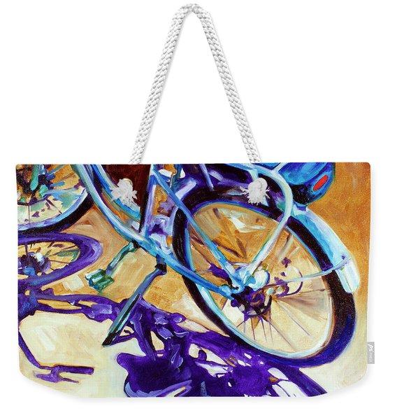 A Pedego Cruiser Bike Weekender Tote Bag