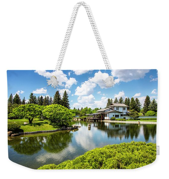 A Perfect Day In The Garden Weekender Tote Bag