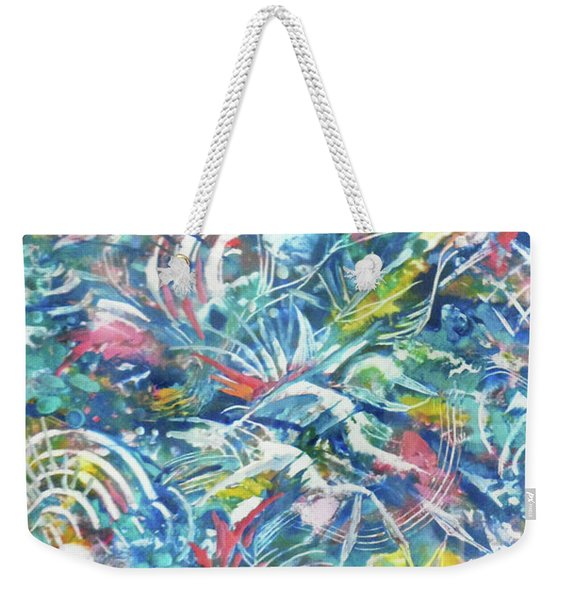 Joy In Action Weekender Tote Bag