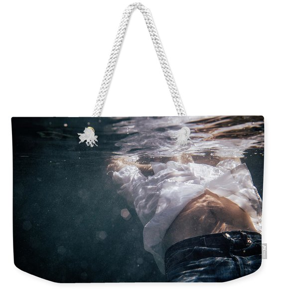 A Piece Of A Man Weekender Tote Bag