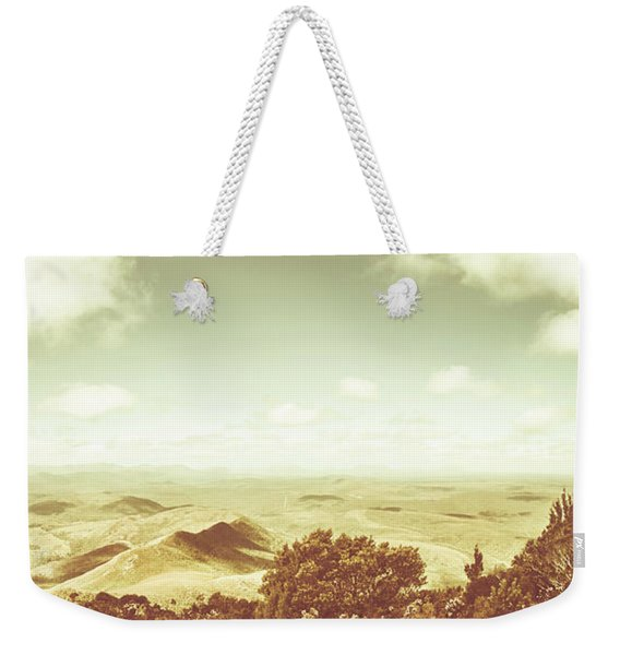A Piece Of Tasmania Weekender Tote Bag