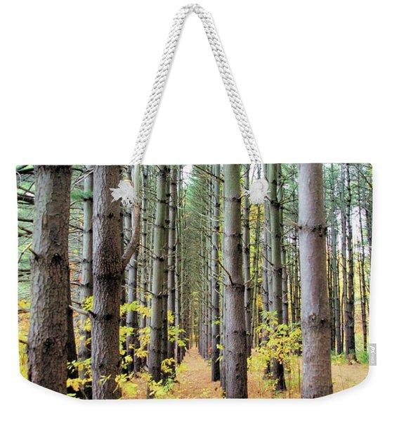 A Pines Army Weekender Tote Bag