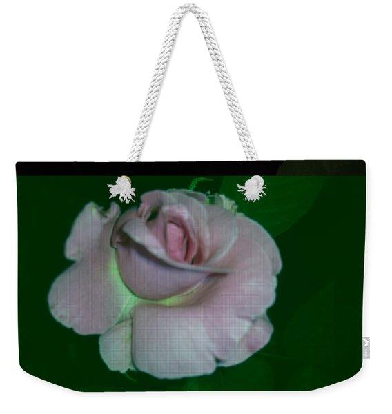 A Pink Rose Weekender Tote Bag