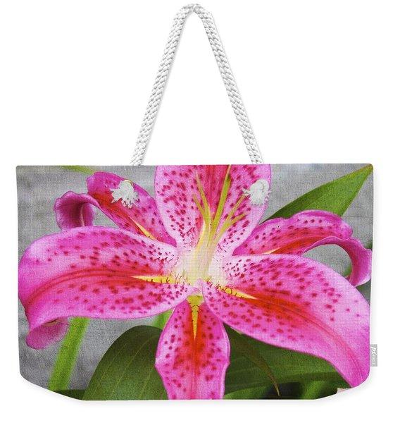 A Pink So Vivid I Can Almost Taste It Weekender Tote Bag