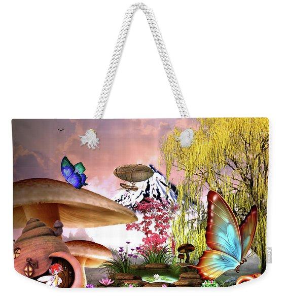 A Pixie Garden Weekender Tote Bag