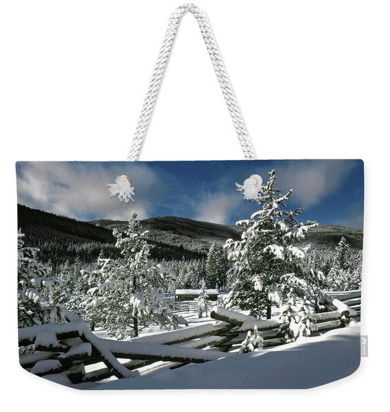 A Place In The Winter Sun Weekender Tote Bag