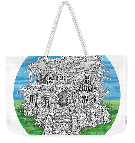 House Of Secrets Weekender Tote Bag