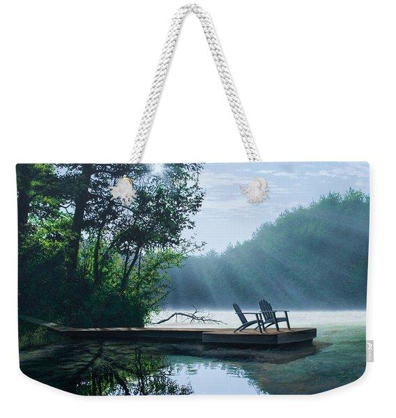 A Place To Ponder Weekender Tote Bag