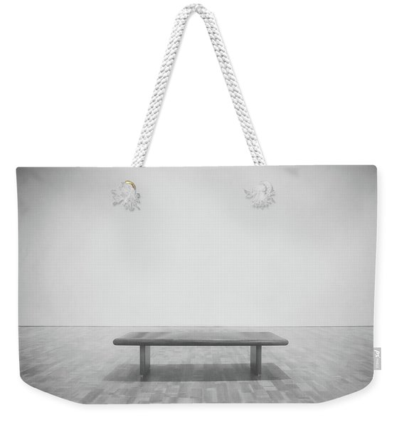A Place To Sit 3 Weekender Tote Bag