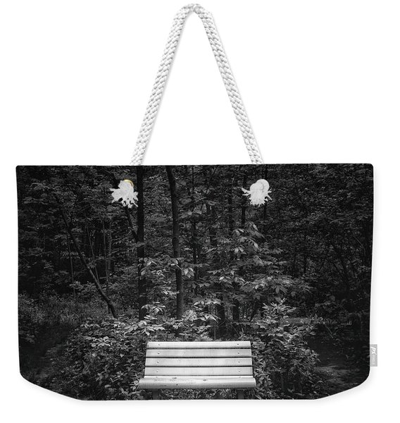 A Place To Sit Weekender Tote Bag