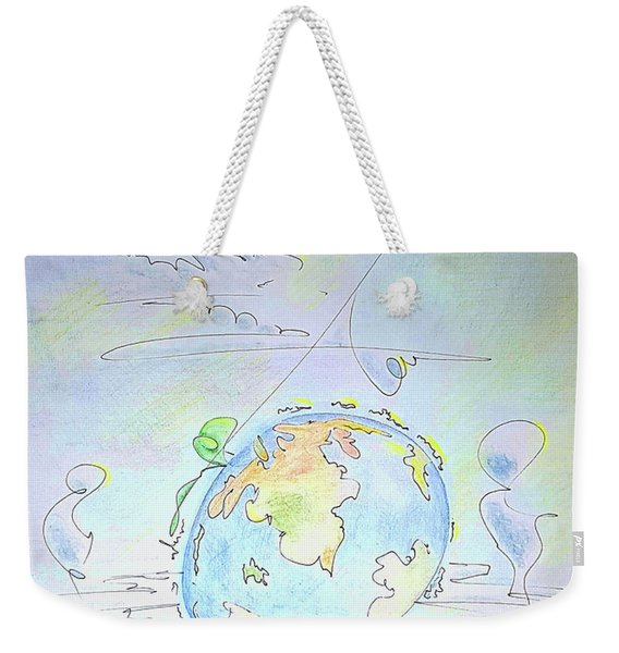 A Planet Remembered Weekender Tote Bag