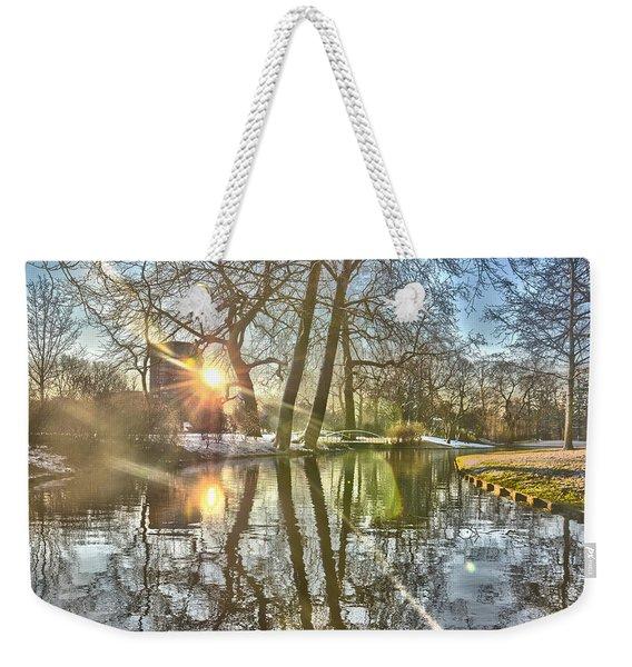 A Pond In Rotterdam Weekender Tote Bag