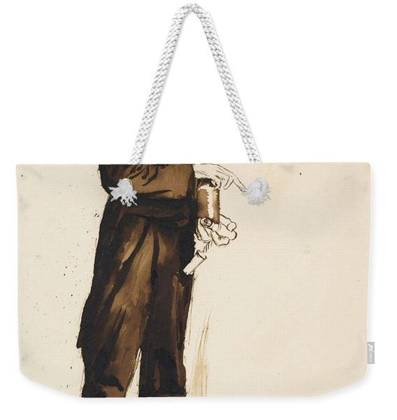 A Porter To The Hogarth Club Weekender Tote Bag