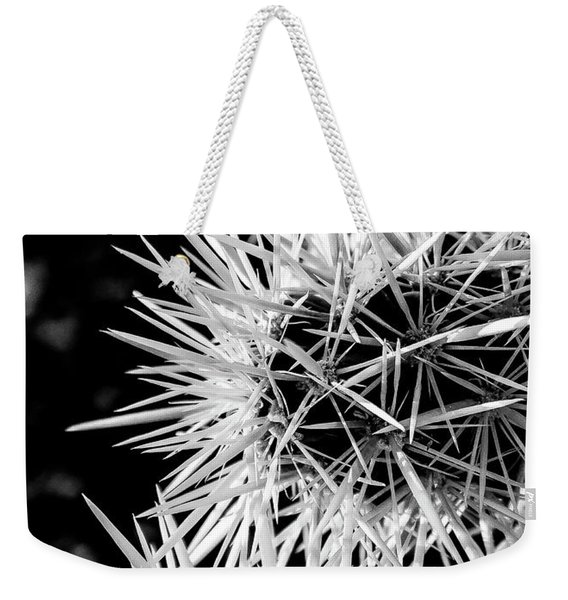 A Prickly Subject Weekender Tote Bag