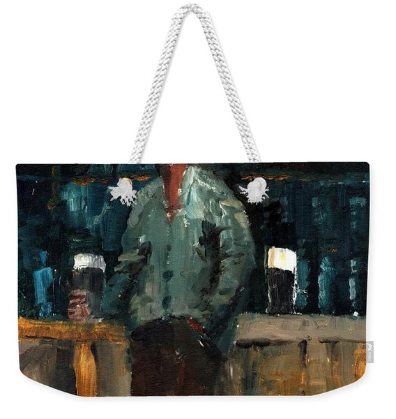 F 772  Holy Hour A Pint And A Spare. Weekender Tote Bag