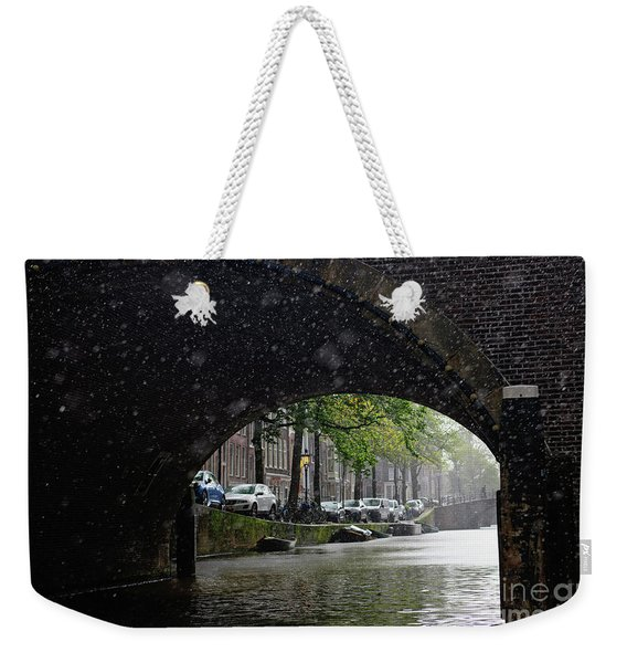 A Rainy Day Weekender Tote Bag