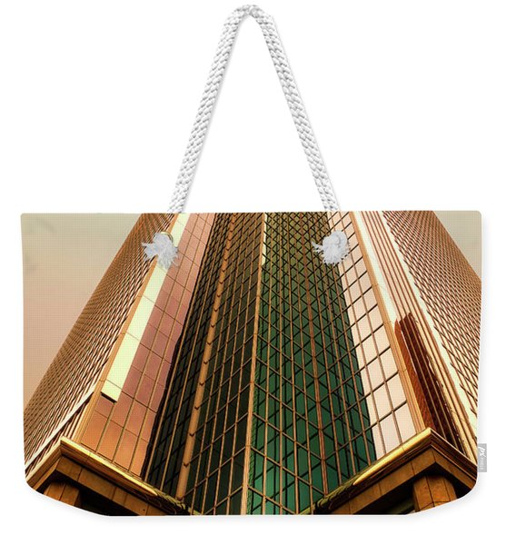 A Really Tall Building Weekender Tote Bag