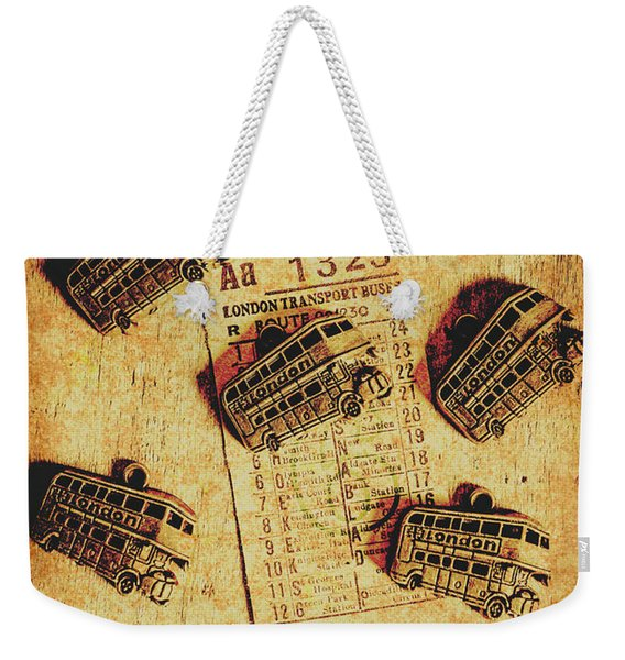A Return To Old London Weekender Tote Bag