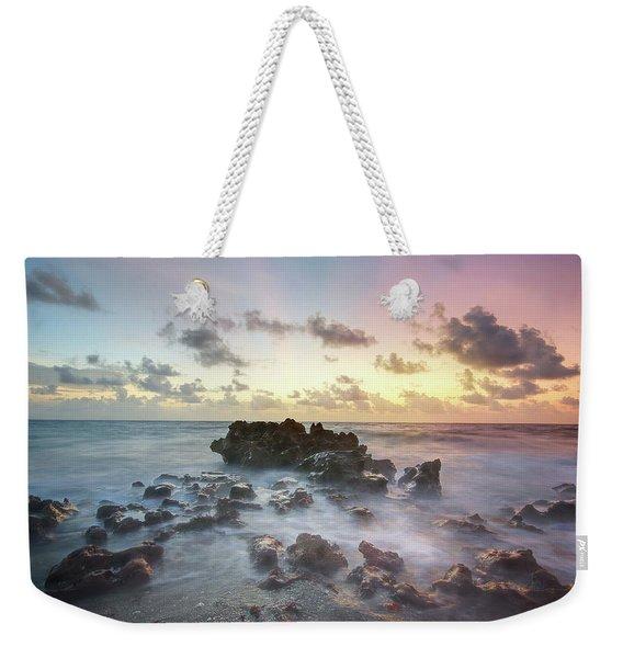 A Rocky Sunrise. Weekender Tote Bag