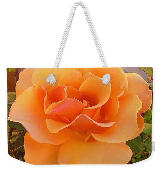 A Rose Is A Rose Weekender Tote Bag