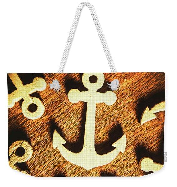 A Sailors Badge Weekender Tote Bag