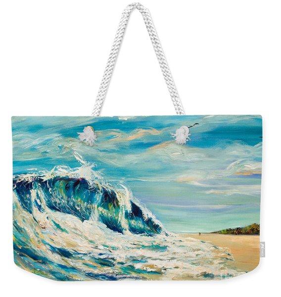 A Sandpiper's View Weekender Tote Bag