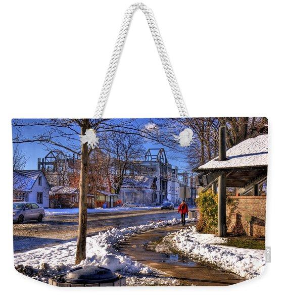 A Sandpoint Winter Weekender Tote Bag