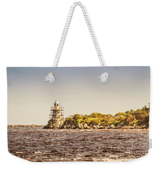 A Seashore Construction Weekender Tote Bag