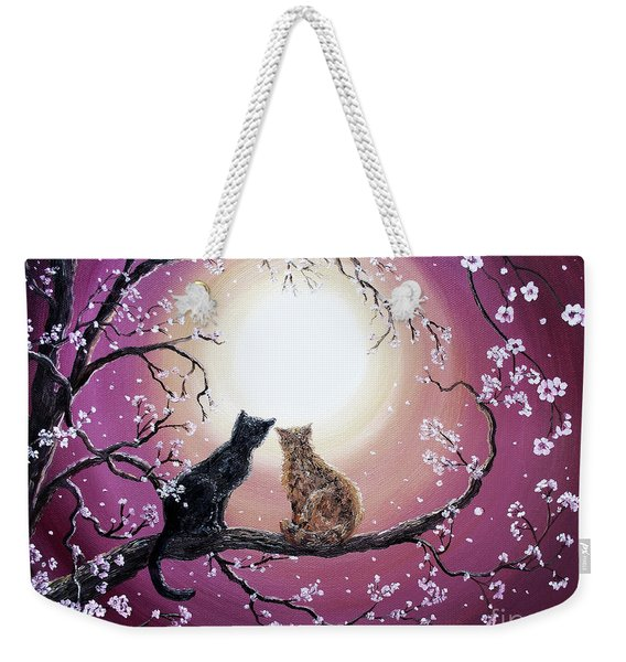 A Shared Moment Weekender Tote Bag
