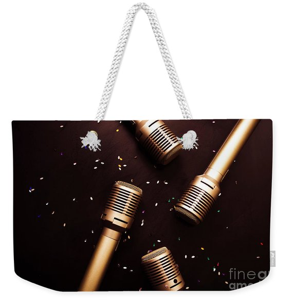 A Showtime Scene Weekender Tote Bag