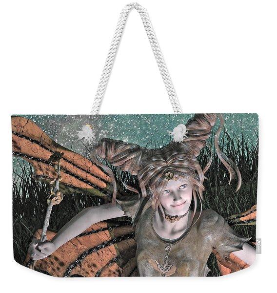 She Belongs -- With  Weekender Tote Bag