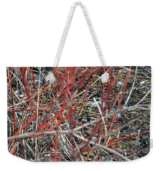 A Small Open Window To Show You My Camouflage Weekender Tote Bag