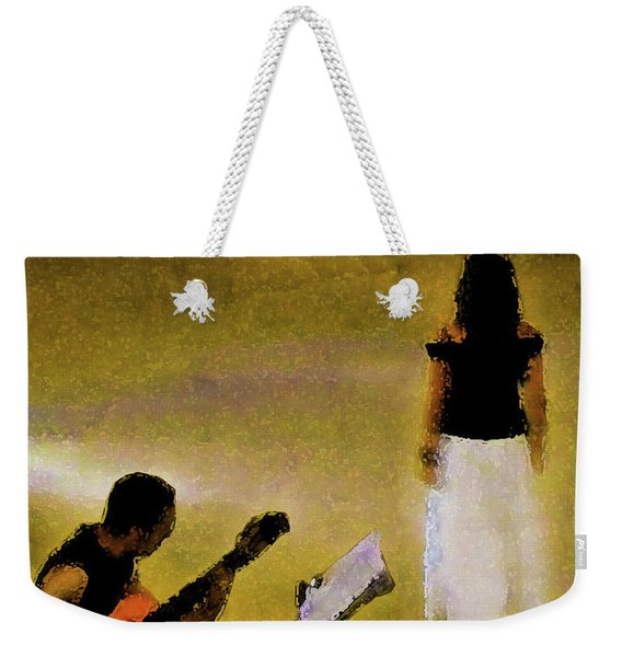 A Song Weekender Tote Bag