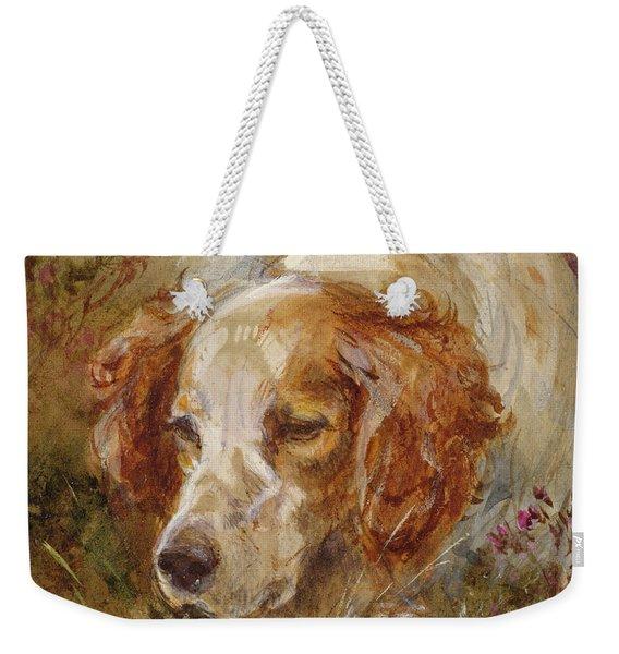 A Spaniel Weekender Tote Bag